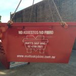 New 2 meter bins headed for South Penrith