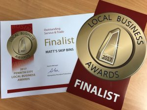 We are Finalists in the 2017 Penrith City Local Business Awards