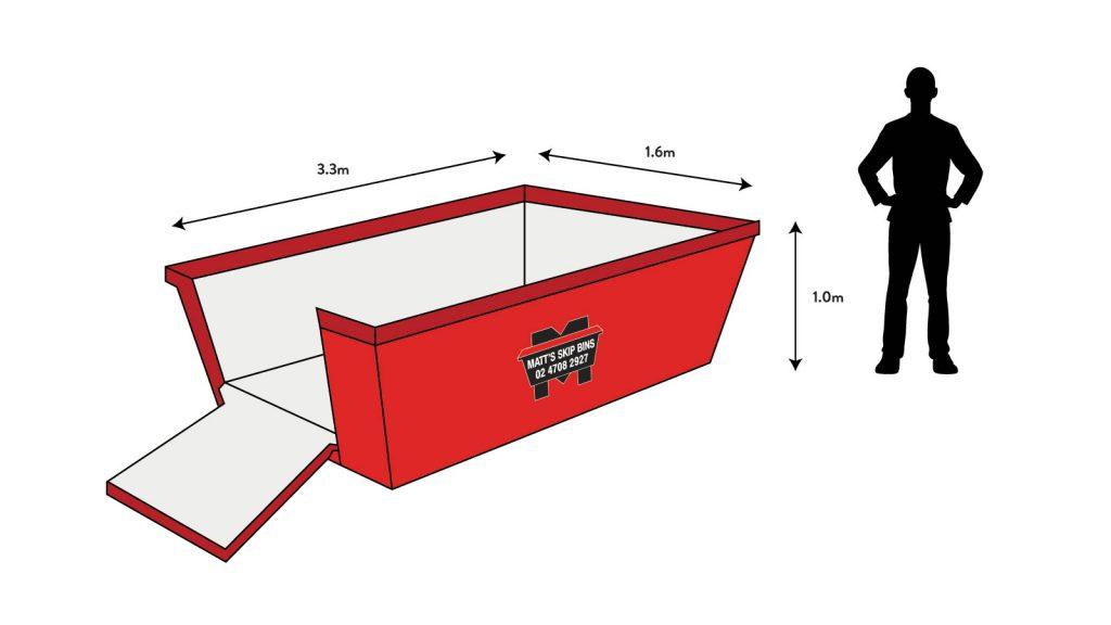 Hiring 4metre skip bins North Sydney