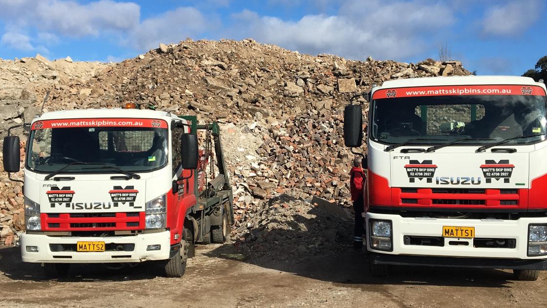 Benefits of recycling skip bin waste