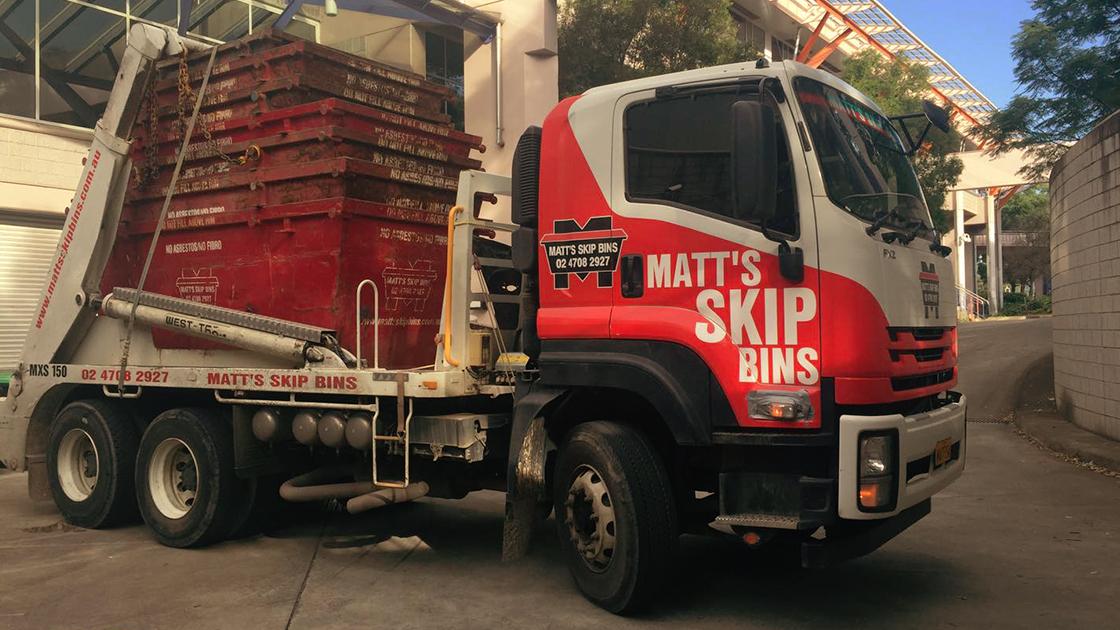 History of Matt's Skip Bins