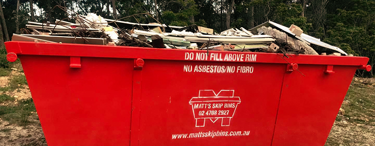 Use your recycling bin wisely and know what is allowed